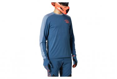 Fox Ranger Dr Long Sleeve Jersey Dark Blue