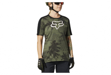 Maillot Manches Courtes Femme Fox Ranger Dr Vert