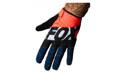 Gants Longs Fox Ranger Gel Orange