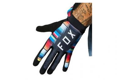 Guantes Fox Flexair Long Negro   Multi Xxl