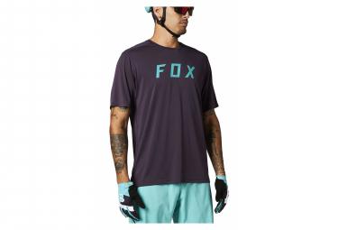 Fox Ranger Fox Short Sleeve Jersey Purple