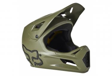 Casco Integral Fox Rampage Nino Verde Kid S  47 48 Cm