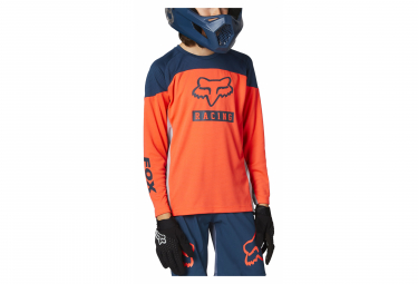 Maillot Manches Longues Enfant Fox Defend Graphic 2 Orange