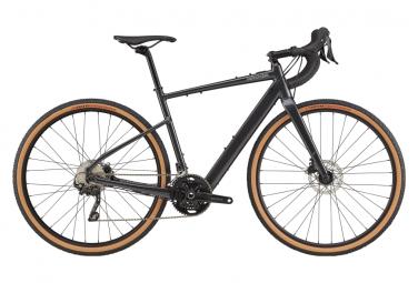 Bicicleta Gravel Electrica Cannondale Topstone Neo Sl 2 Mahle Ebikemotion 250w Shimano Grx 10v Grafito M   170 185 Cm