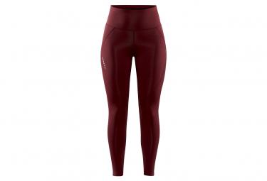 Long Tight Craft Adv Essence High Rojo Mujer Xs