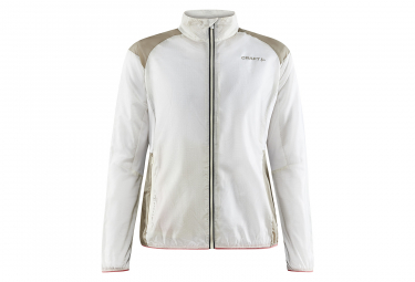 Chaqueta Winfproof Craft Hypervent Blanco Mujer M