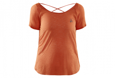 Jersey Craft Core Charge Cross Back Marron Mujer M