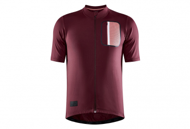 Maillot Craft Adv OffRoad Rouge Homme