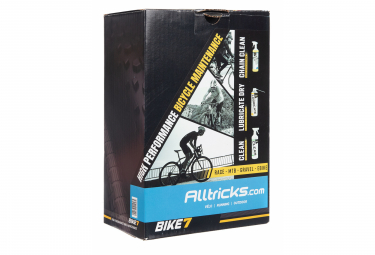 Bike7 Alltricks Pack Clean / Chain Clean / Lubrificate Dry 500ml