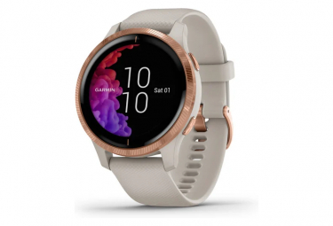 Garmin Venu GPS Watch Pink Gold / Light Sand
