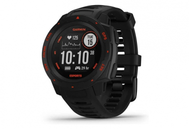 Garmin Instinct Esports Edition GPS-Uhr Schwarz Lava Rot