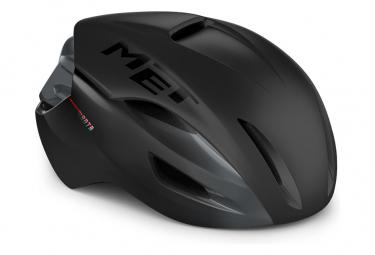 Met Manta Mips Aero Casco Negro Mate Brillante 2021 L  58 61 Cm