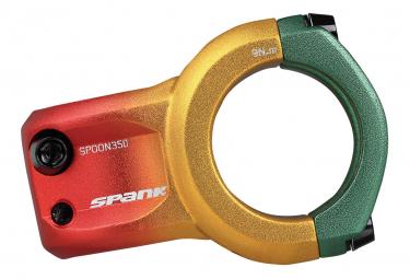 Potence Spank Spoon 350 0° 35 mm Rasta Edition