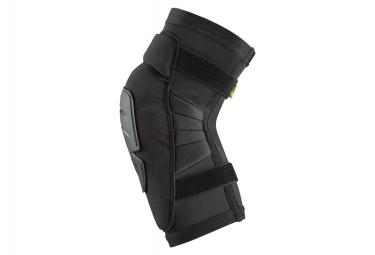 IXS Carve Race Short Knee Guards Black