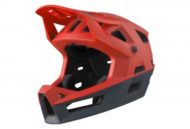 Casco Integral Ixs Trigger Ff Rojo Fluo M L  58 62 Cm