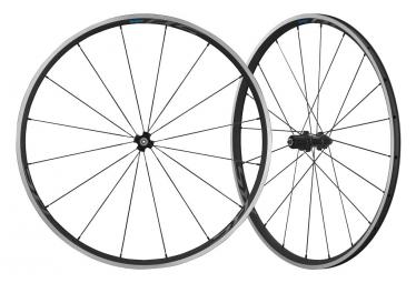Juego de ruedas Shimano 105 RS300 700c | 9x100 - 9x130mm | Patines