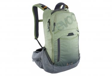 Sac à Dos Evoc Trail Pro 16 Vert / Gris + Poche à Eau 3L