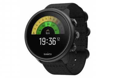 Suunto 9 Baro GPS Watch Charcoal Black Titanium