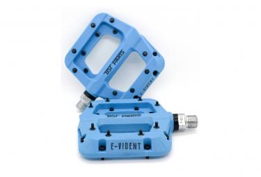 Paire de Pédales Plates BST Parts E-Vident Bleu