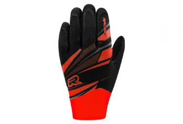 Racer Gloves Light Speed 3 Long Gloves Negro   Rojo Xl