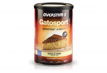 Gâteau Energétique Overstims Gatosport Saveur Gâteau au yaourt 400g