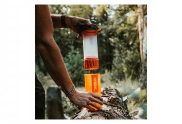 Filtre de Remplacement Grayl GeoPress pour Gourde Filtrante Orange
