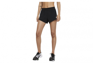 Pantalón corto Nike AeroSwift negro mujer