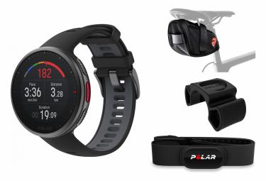 Orologio GPS Polar Vantage V2 Limited Edition Cycling Bundle Nero