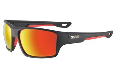 Gafas Cebe Strickland Soft Touch Negro Rojo   Gris Rojo