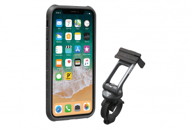 Support et Protection Smartphne Topeak RideCase (Apple iPhone X / XS) Noir