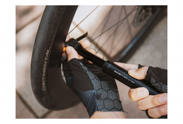 Topeak Roadie TT Mini Hand Pump (Max 160 psi / 11 bar) Black