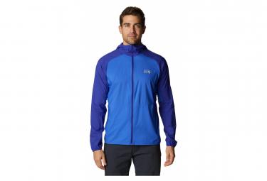 Veste Softshell Mountain Hardwear Kor Preshell Hoody Bleu