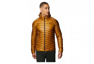 Mountain Hardwear Ghost Down Jacket Whisperer 2 Hoody Brun S Hombre L