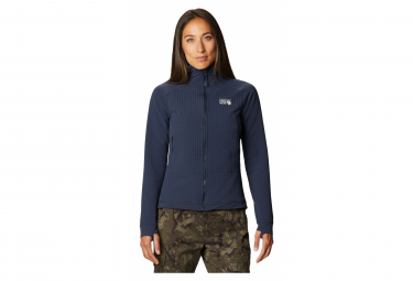 Mountain Hardwear Polaire Keele Ascent W Sudadera Con Capucha Gris S Mujer S