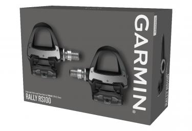 Pedales de medidor de potencia Garmin Rally RS 100 SPD-SL (Shimano)