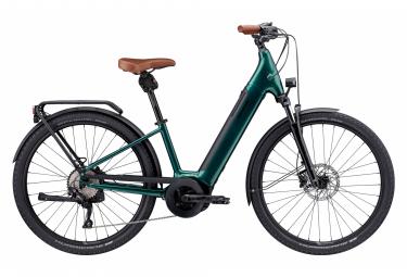 Bicicletta elettrica da città Cannondale Adventure Neo 1 EQ 650b Shimano Shimano 8V 625 Wh Emerald