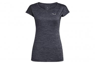 Camiseta Salewa Puez Melange Dry  39 Ton Mujer Azul Oscuro 42