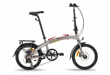 Bicicleta Pegable BH Ibiza Pro 18'' Gris