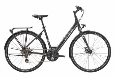Bicicleta Ciudad Mujer Trek Verve 1 Lowstep Equipped Noir