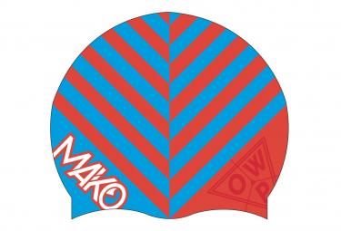 Mako OWP Silicone Hat Fluo Orange / Blue