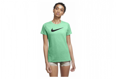Maillot Manches Courtes Femme Nike Dri-Fit Training Vert