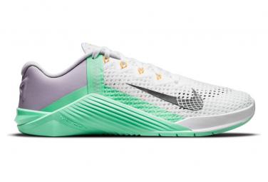 Zapatillas Nike Metcon 6 para Mujer Blanco / Verde