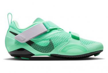 Zapatillas Spinning Nike Superrep Cycle Mujer Verde 40 1 2