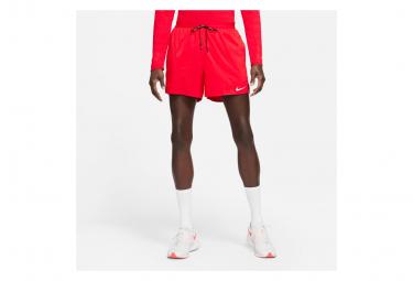 Short Nike Flex Stride 5' Rouge