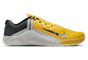 Chaussures de Cross Training Nike Metcon 6 Jaune / Noir