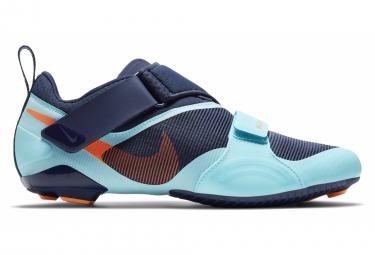 Paio di scarpe da spinning Nike SuperRep Cycle blu