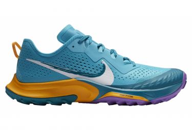Nike Air Zoom Terra Kiger 7 Blue / Yellow Pair of Shoes