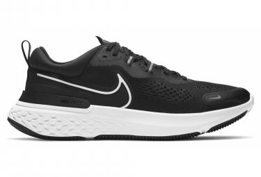 Par De Zapatillas Nike React Miler 2 Negro   Blanco 45 1 2