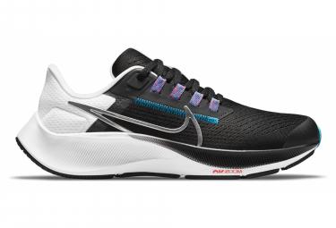 Nike Air Zoom Pegasus 38 Kinderpaar Schwarz / Weiß / Silber