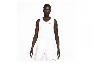 Camiseta Sin Mangas Nike Dri Fit Rise 365 Blanco S